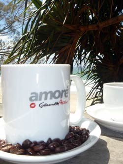 Amore coffee with passion